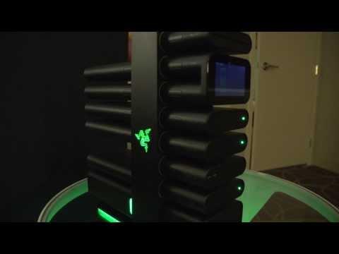 Razer Proje Christine, Msı Oyun, Gigabyte Ve Enermax - Ncıx Gün 1