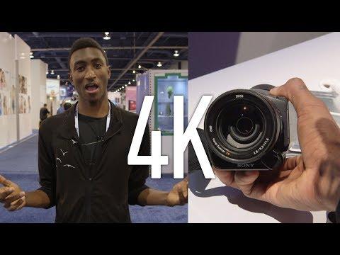 4K Dijital Kameralar-Ces 2014!