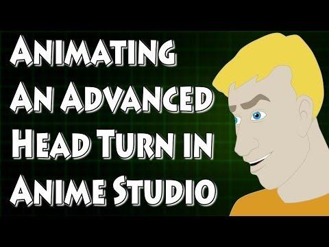Anime Studio Detaylı Kafa Sırayla Hareketlendirme
