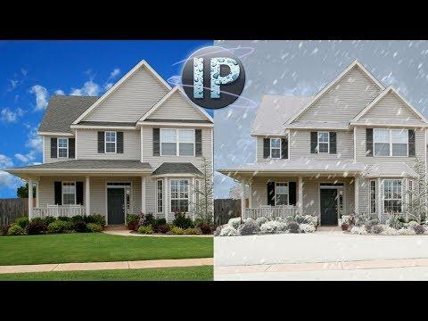 Dijital Kar Photoshop Elements 10, 11, 12 Oluşturma Photoshop Elemanları Eğitimi