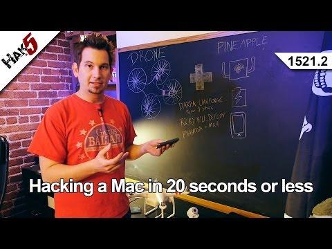 20 Saniye Veya Daha Az, Hak5 1521.2 Bir Mac Kesmek
