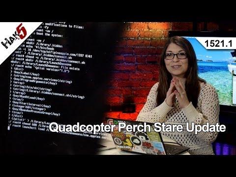 Quadcopter Levrek Ve Dik Dik Güncelleştirme, Hak5 1521.1