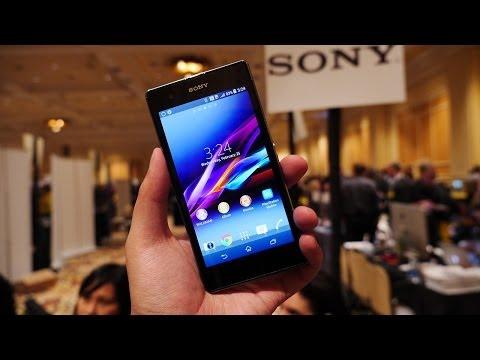 Sony Xperia Z1S İlk Bak! [Ces 2014]