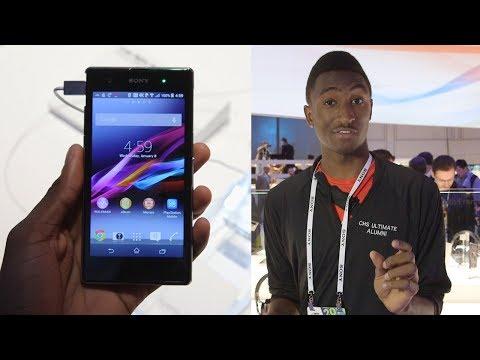 Sony Xperia Z1S Ve Z1 Ces 2014 Düzenleyin!