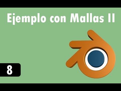 Öğretici De Blender - 8 - Ejemplo Con Mallas Iı