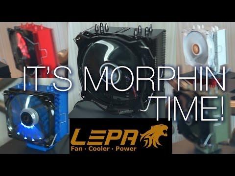 Lepa Suite - Süper İstikrarlı 1600W Psu, Alüminyum Soğutucular - Ces 2014 Renkli