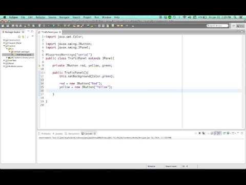 Java Eğitim - 44 - Özel Jpanel Devam Etti.