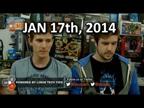 Wan Show: Ces Vurgular, Manto Sürücü Geliyor, Wearables Ve Konuk Qaın - 17 Ocak 2014