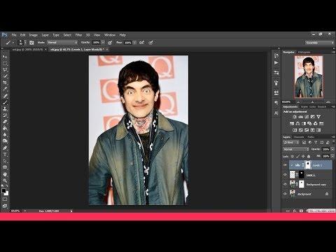 Öğretici Photoshop Membuat Efek Yüz Takas