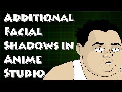 Yüz Anime Studio Gölgelendirme Kadar Parlatma