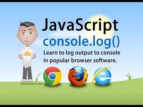 Javascript Konsolu Günlüğü Öğretici Krom Firefox Ie Tarayıcıları