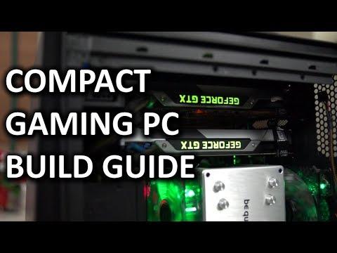 """Son Intel Kompakt Slı Gaming Pc Bilgisayar """"nasıl Yapılır"""" İnşa Kılavuzu"""
