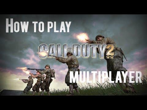 Call Of Duty 2 Multiplayer [Win Xp, 7, 8] Oynamak Nasıl