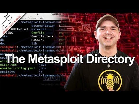 Metasploit Dizin Yapısı - Metasploit Dakika