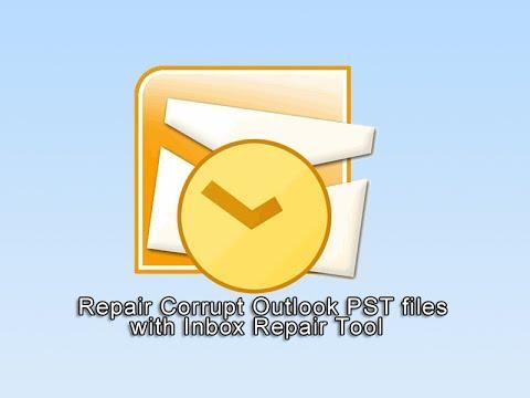 Bozuk Outlook Pst Dosyaları Kutusu Onarım Aracı İle Onarım