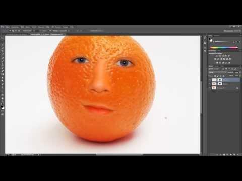 Photoshop Tutorial: Fotomontage Obstgesicht