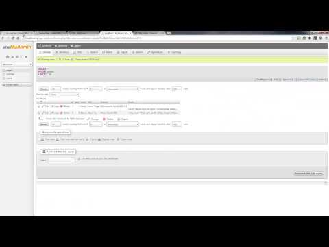Dinamik Web Sitesi 2014 - Bölüm 34 - Geliştirme Mysql İçine Bir Html Formuna Verileri Yeniden Oluşturma