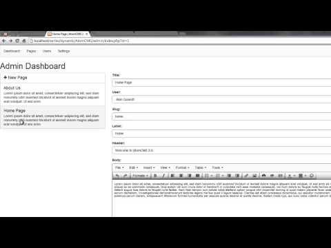 Bir Dinamik Web Sitesi 2014 - Bölüm 44 - Kullanarak Geliştirme Güncelleme Php İle Mysql Veritabanı Değiştirmek İçin