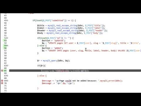 Bir Dinamik Web Sitesi 2014 - Bölüm 45 - Dinamik Olarak Bir Etkin Css Sınıfı İçin Html Bağlantıları Ayarlama Geliştirme