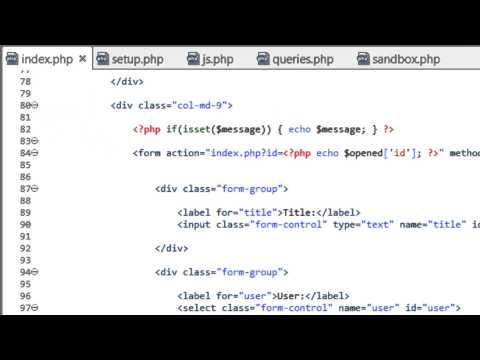 Bir Dinamik Web Sitesi 2014 - Bölüm 46 - Değerleri Karşılaştırmak İçin Bir Php İşlevi Oluşturma Geliştirme