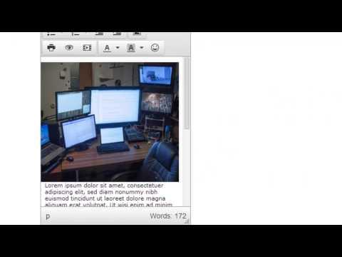 Dinamik Web Sitesi 2014 - Bölümü 43 - Gelişmiş Tinymce Seçenekleri Geliştirmek