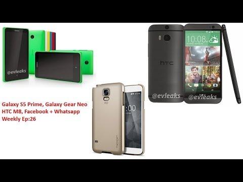 26 Haftalık Ep: Galaxy S5 Asal, Facebook Satın Whatsapp, Galaxy Dişli Neo, Mwc 2014