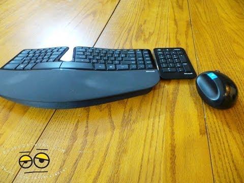Microsoft Heykeltraşlık Ergonomik Klavye Ve Fare Bir Daha Gözden Geçirme