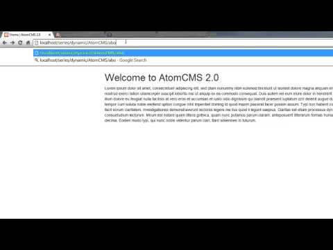 Bir Dinamik Web Sitesi 2014 - Bölüm 50 - Temiz Url Veri Kullanmak İçin Kurulum Dosyasını Değiştirme Geliştirme