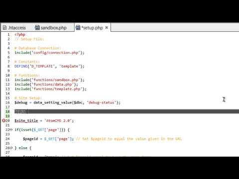 Dinamik Web Sitesi 2014 - Bölüm 49 - Geliştirme Temiz Bir Url İşlemek İçin Php Kullanarak