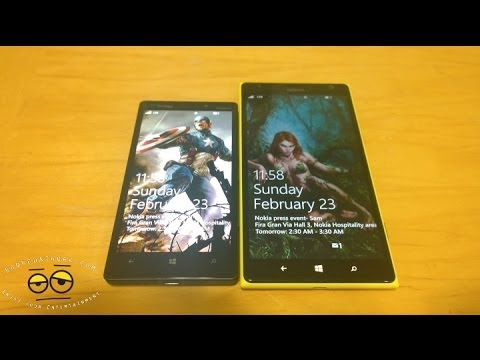 Savaş Vid: Lumia Simge Vs Lumia 1520