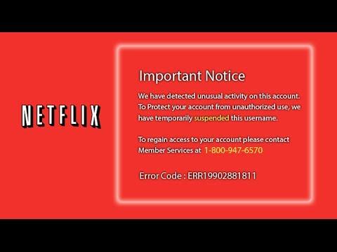 Netflix Teknik Desteği Scam