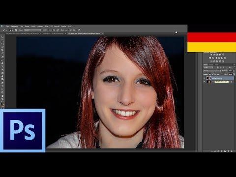 Photoshop Tutorial Deutsch: Gesicht Schöner Machen