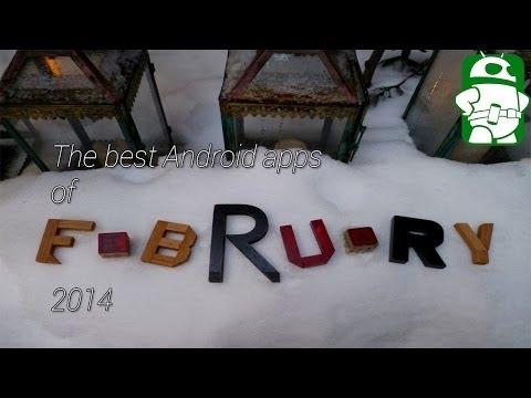 En İyi Android Apps Şubat 2014