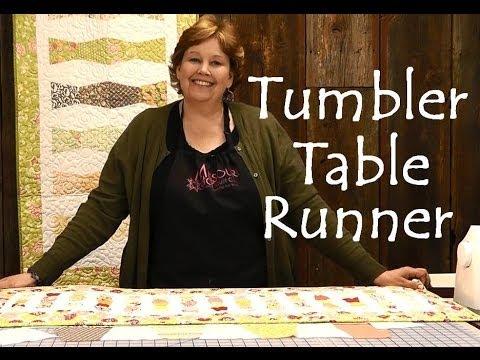 Tumbler Masa Runner - Kolay Projeler Kapitone