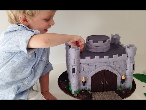 Nasıl Bir Kale Yapmak O Kale Pasta Ve Ejderha Eğitimi Pişirmeyi Kek