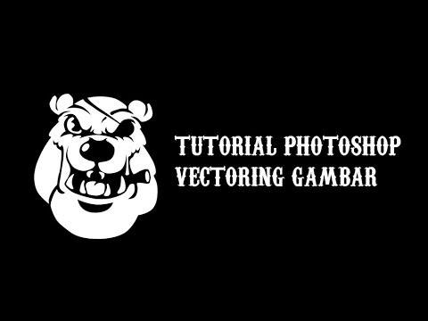 Öğretici Photoshop Membuat Vektör Gambar