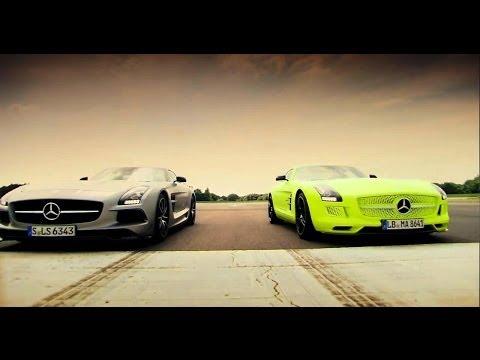Benzin Vs Elektrik - Mercedes Sls Amg Battle - Top Gear - Serisi 20 - Bbc