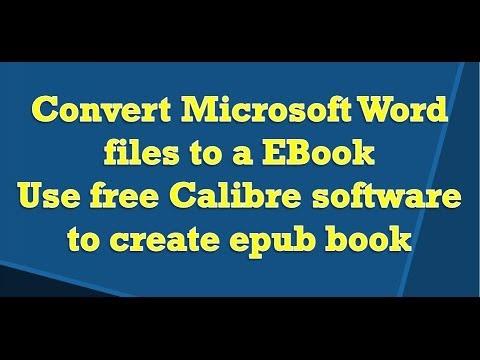 Ebook İçin Microsoft Word Belgesi Dönüştürmek