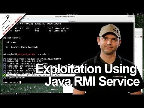 Java Rmı Servisi - Metasploit Dakika Kullanarak Sömürü