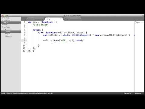 Ham Javascript Ajax: İnşa