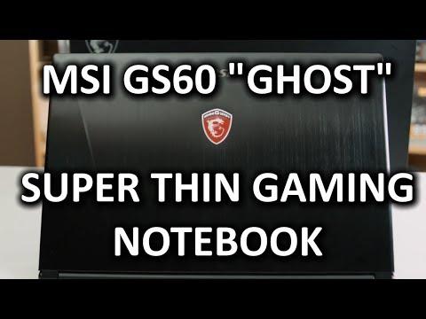 Msı Gs60 Hayalet İnce Ve Hafif Gaming Defter