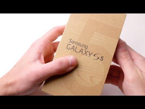 Unboxing Samsung Galaxy S5 Beyaz!