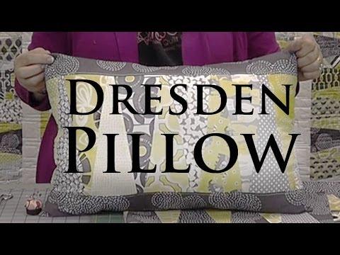 """Dresden Yastık - Olun Katmanı Kek (10"""" Kareler) İle Sevimli Bir Yastık"""