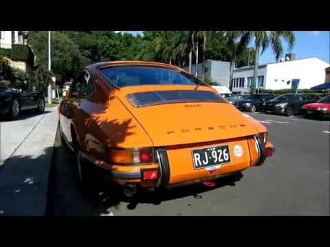 1971 Porsche 911'i S (2.7) - Başlamak Ve Arabayla