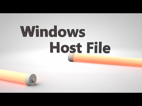 Nasıl Yönetici Modu Windows Vısta/7/8 Hosts Dosyasında Düzenleme