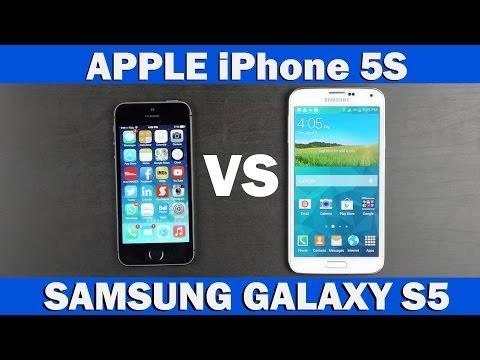Samsung Galaxy S5 Vs İphone 5'ler Tam Karşılaştırma