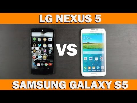Samsung Galaxy S5 Vs Nexus 5 Tam Karşılaştırma