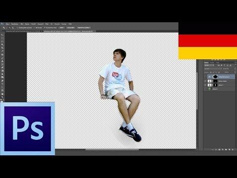 Eğitimi: Ein Bild Einfügen Mit Photoshop 6 (Deutsch) Jemanden