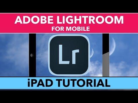 Adobe Lightroom İçin Cep Özel Öğretmen - Öğrenmek Lightroom İçin İpad