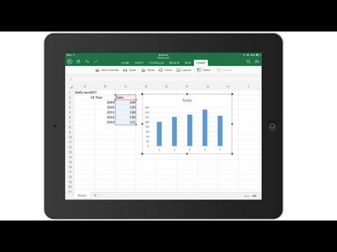 Excel İçin İpad - Giriş Ve Demo | Exceltutorials